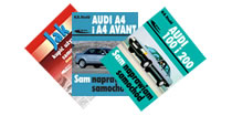Książki o samochodach marki Audi