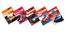 Książki o samochodach marki Daewoo