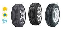 Opony samochodowe do Mercedesa - zimowe, letnie i całoroczne - konfigurator