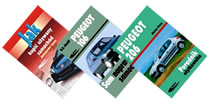 Książki o samochodach marki Peugeot