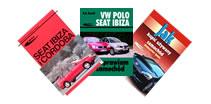 Książki o samochodach marki Seat