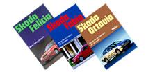 Książki o samochodach marki Skoda