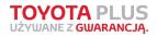 Toyota Plus - Używane z gwarancją
